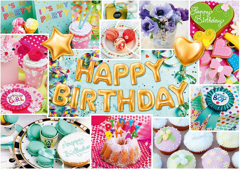 Пъзел Schmidt от 1000 части - Честит рожден ден - 2