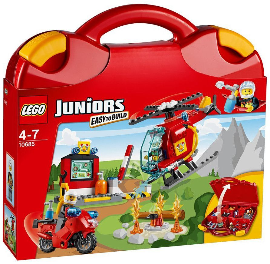 Конструктор Lego Juniors - Пожарникарски куфар (10685) - 1