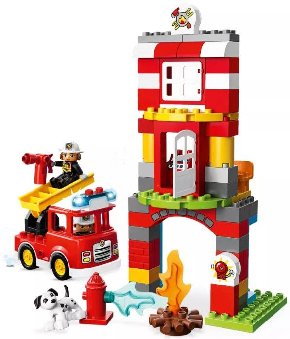 Конструктор Lego Duplo - Fire Station (10903) - 3