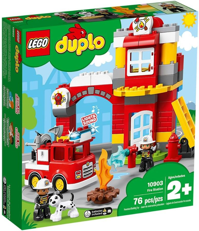 Конструктор Lego Duplo - Fire Station (10903) - 1
