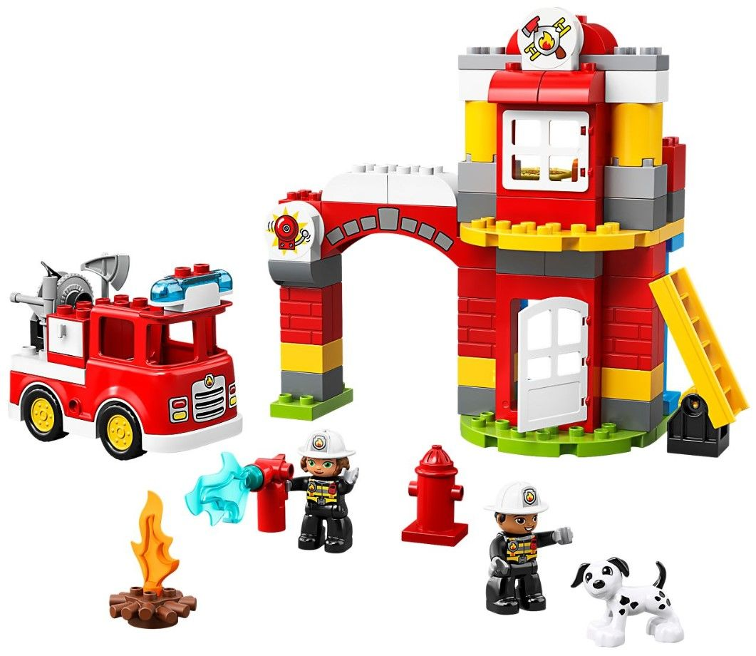 Конструктор Lego Duplo - Fire Station (10903) - 4