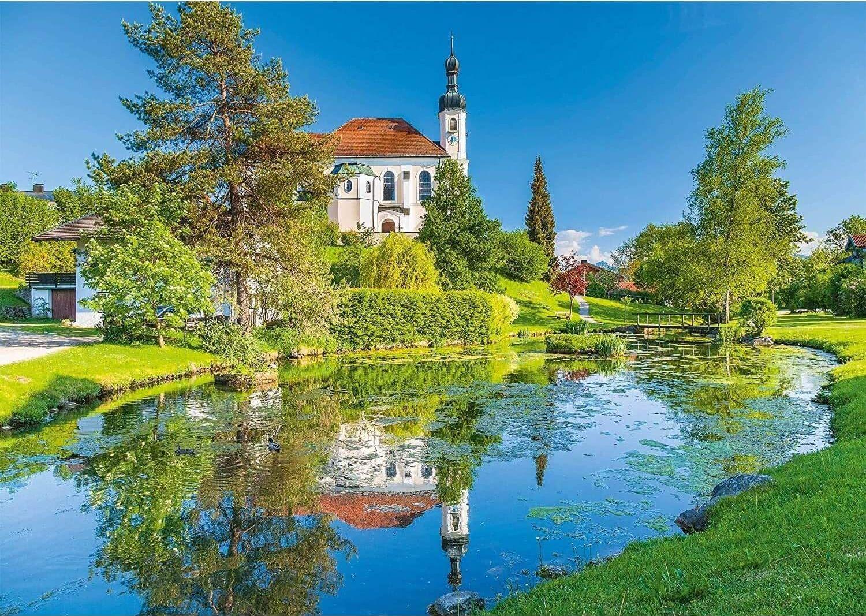 Пъзел Schmidt от 1000 части - Брайтбрун, Кимгау, Бавария - 2