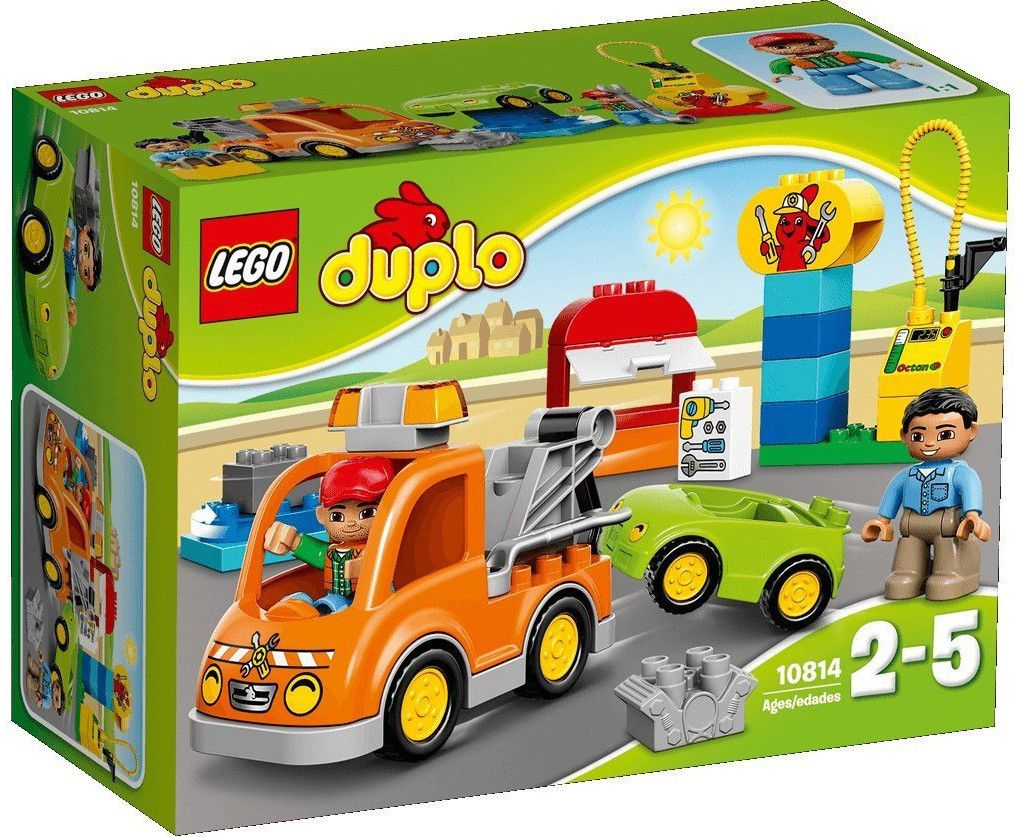 Конструктор Lego Duplo - Влекач (10814) - 1