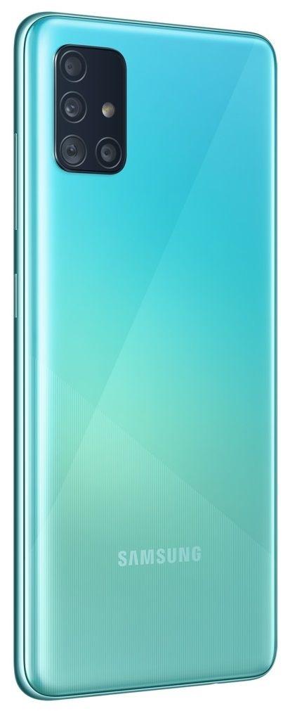 """Смартфон Samsung Galaxy A51 - 6.5"""", 128GB, син - 3"""