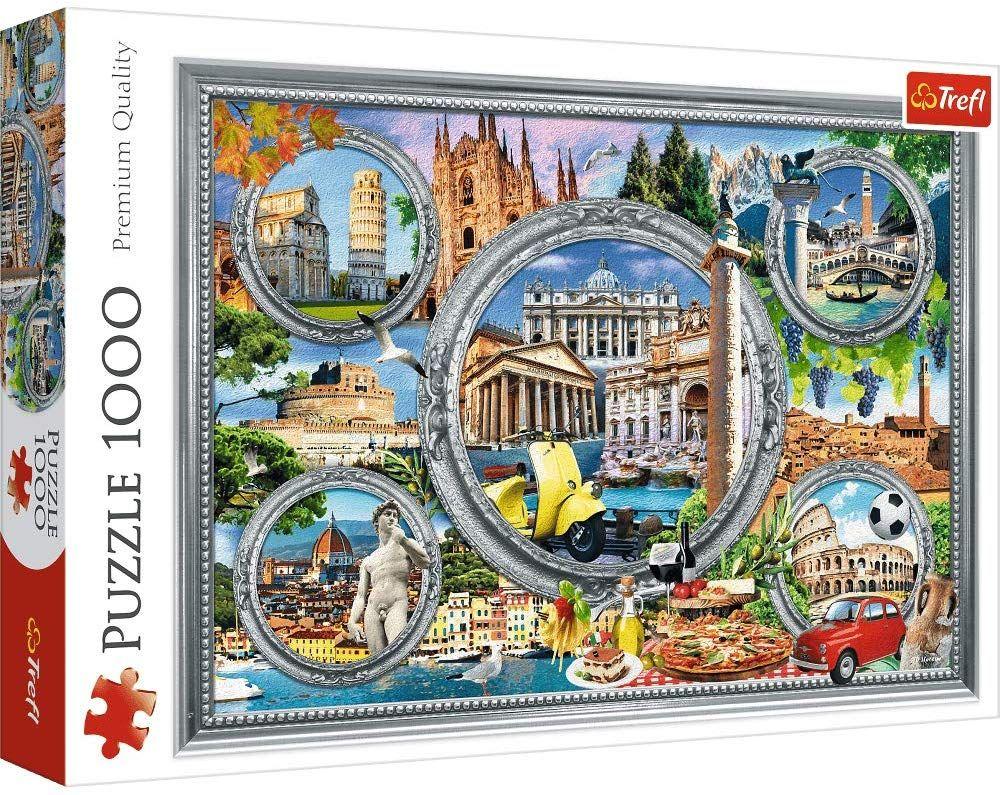 Пъзел Trefl от 1000 части - Италия - 1