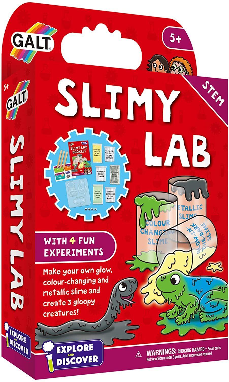 Комплект за експерименти Galt - Лаборатория за желе и слузести създания - 1