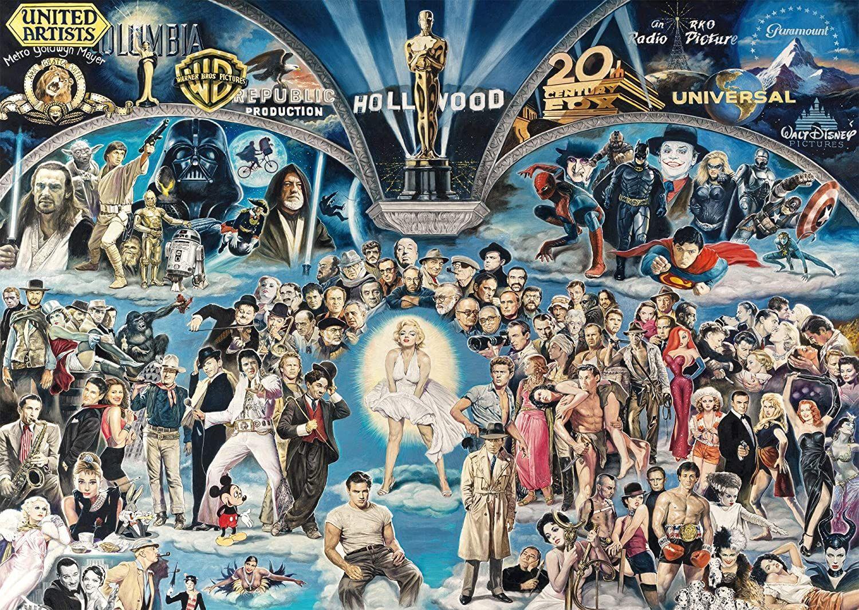 Пъзел Schmidt от 1000 части - Холивуд, Ренато Касаро - 2