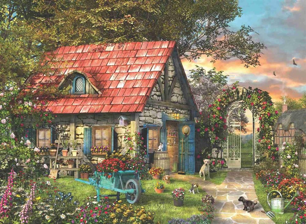Пъзел Anatolian от 1000 части -  Приказна къща, Доминик Дейвисън - 2