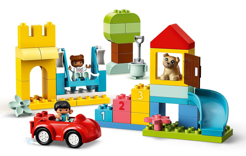 Конструктор Lego Duplo - Луксозна кутия с тухлички (10914) - 3