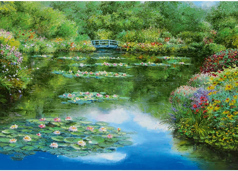 Пъзел Schmidt от 1000 части - Езерото с водните лилии, Сам Парк - 2