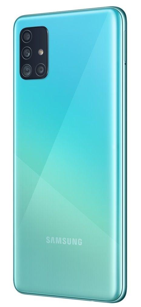 """Смартфон Samsung Galaxy A51 - 6.5"""", 128GB, син - 4"""