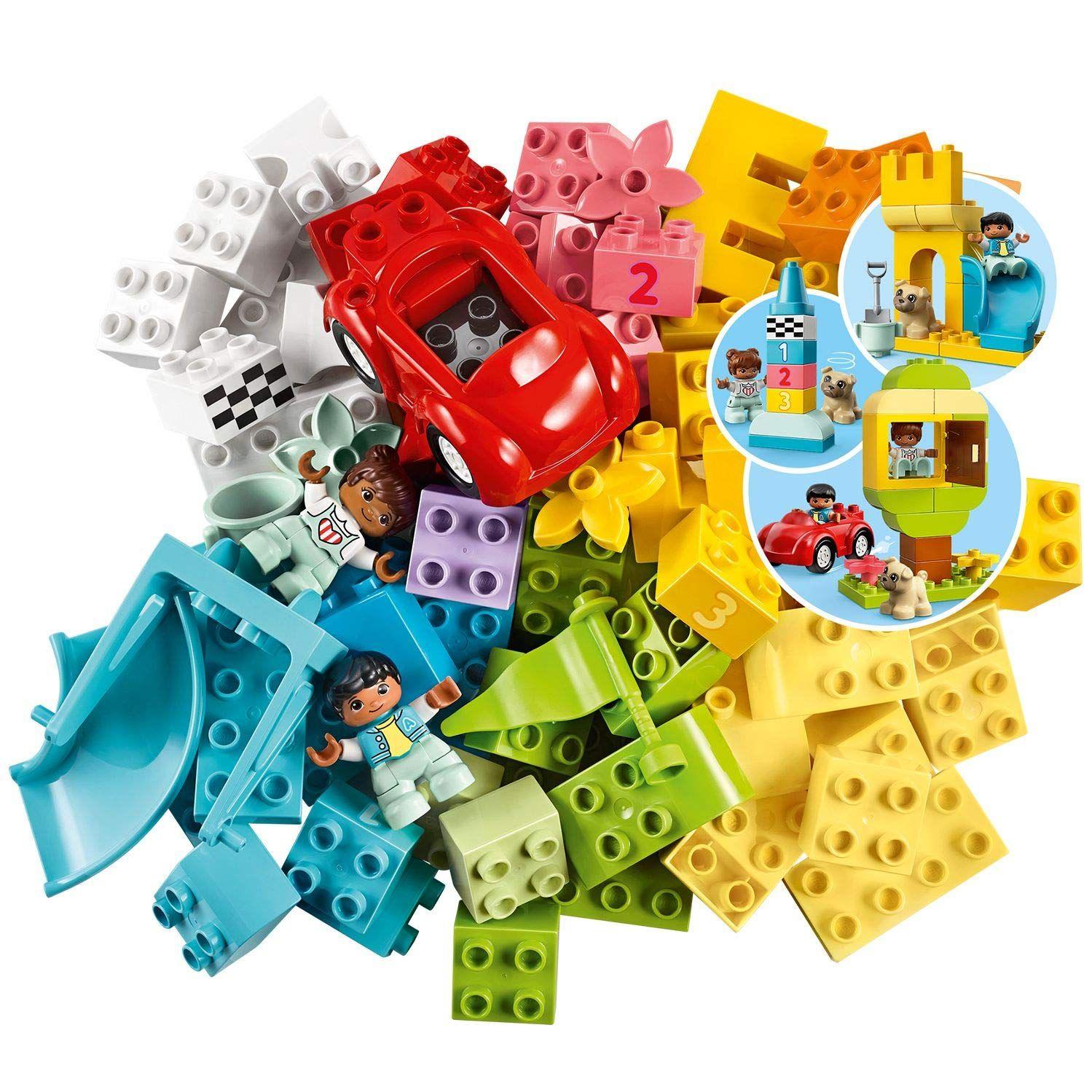 Конструктор Lego Duplo - Луксозна кутия с тухлички (10914) - 2