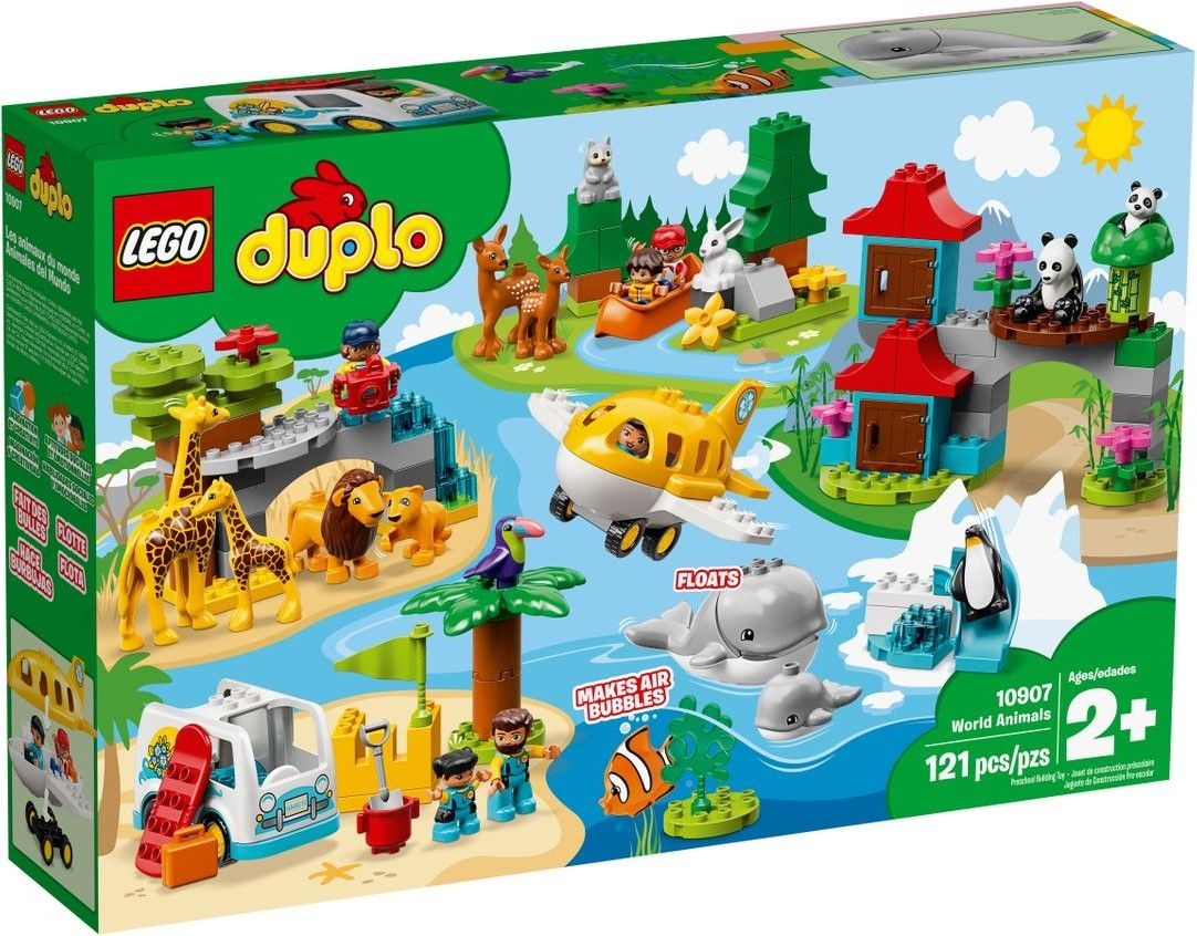 Конструктор Lego Duplo - World Animals (10907) - 1