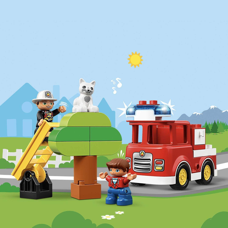 Конструктор Lego Duplo - Пожарникарски камион (10901) - 3
