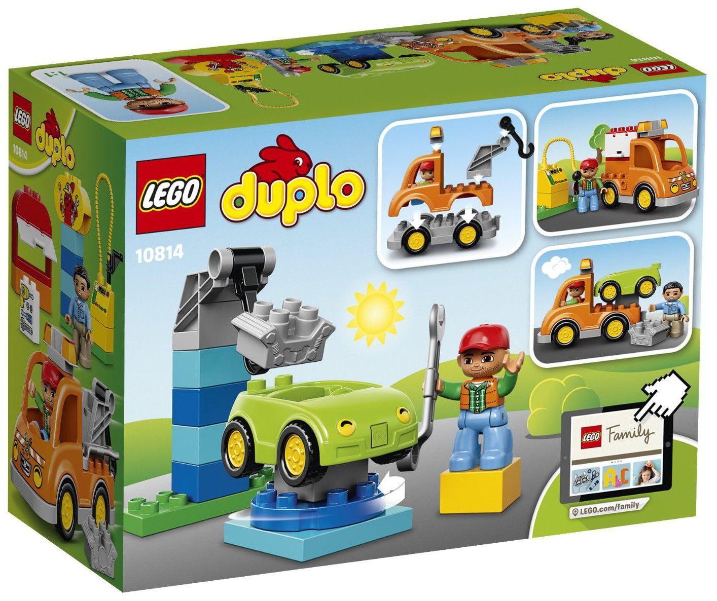 Конструктор Lego Duplo - Влекач (10814) - 3