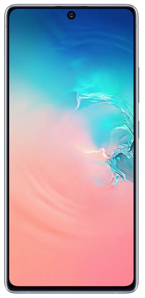 "Смартфон Samsung Galaxy S10 Lite - 6.7"", 128GB, бял - 1"