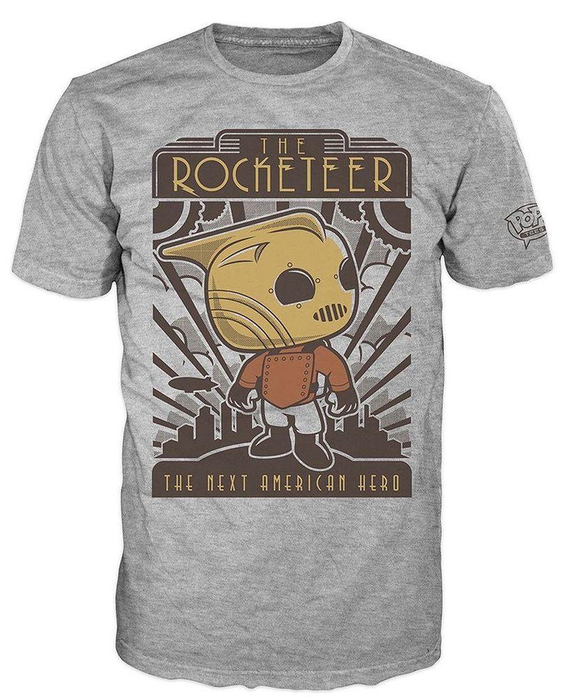 Тениска Funko Pop! The Rocketeer, сива - 1