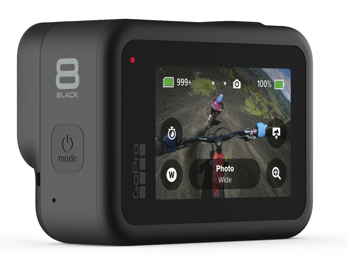 Спортна камера GoPro Hero8 - черна - 4