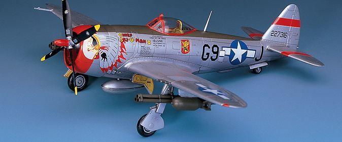 Самолет Academy P-47D Thunderbolt Bubbletop (12491) - 3