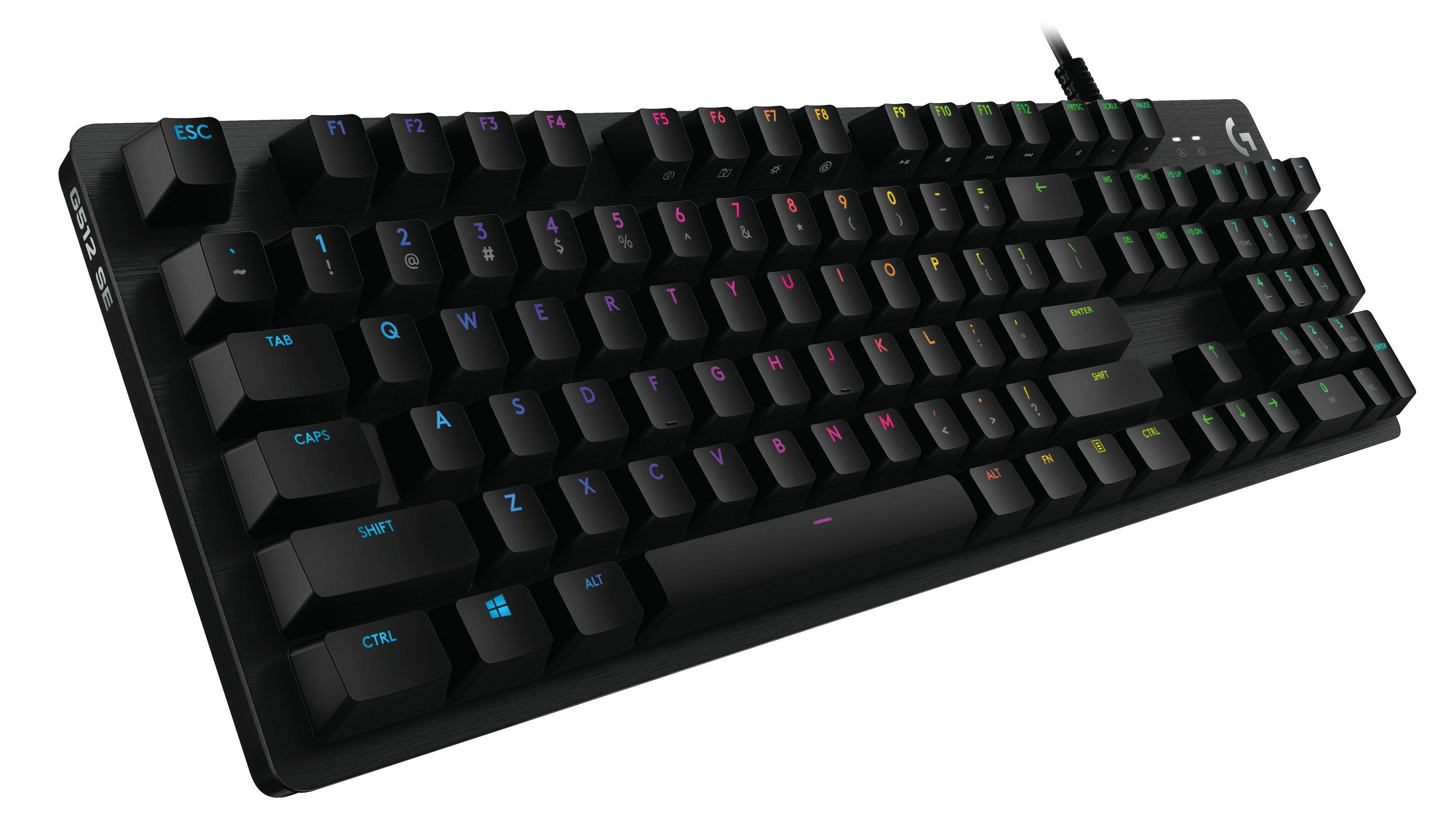 Гейминг клавиатура Logitech - G512 Special Edition, черна - 3