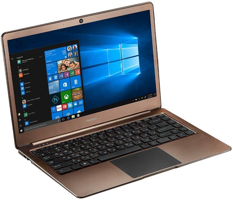 Лаптоп Prestigio SmartBook - 141 C2, кафяв - 1