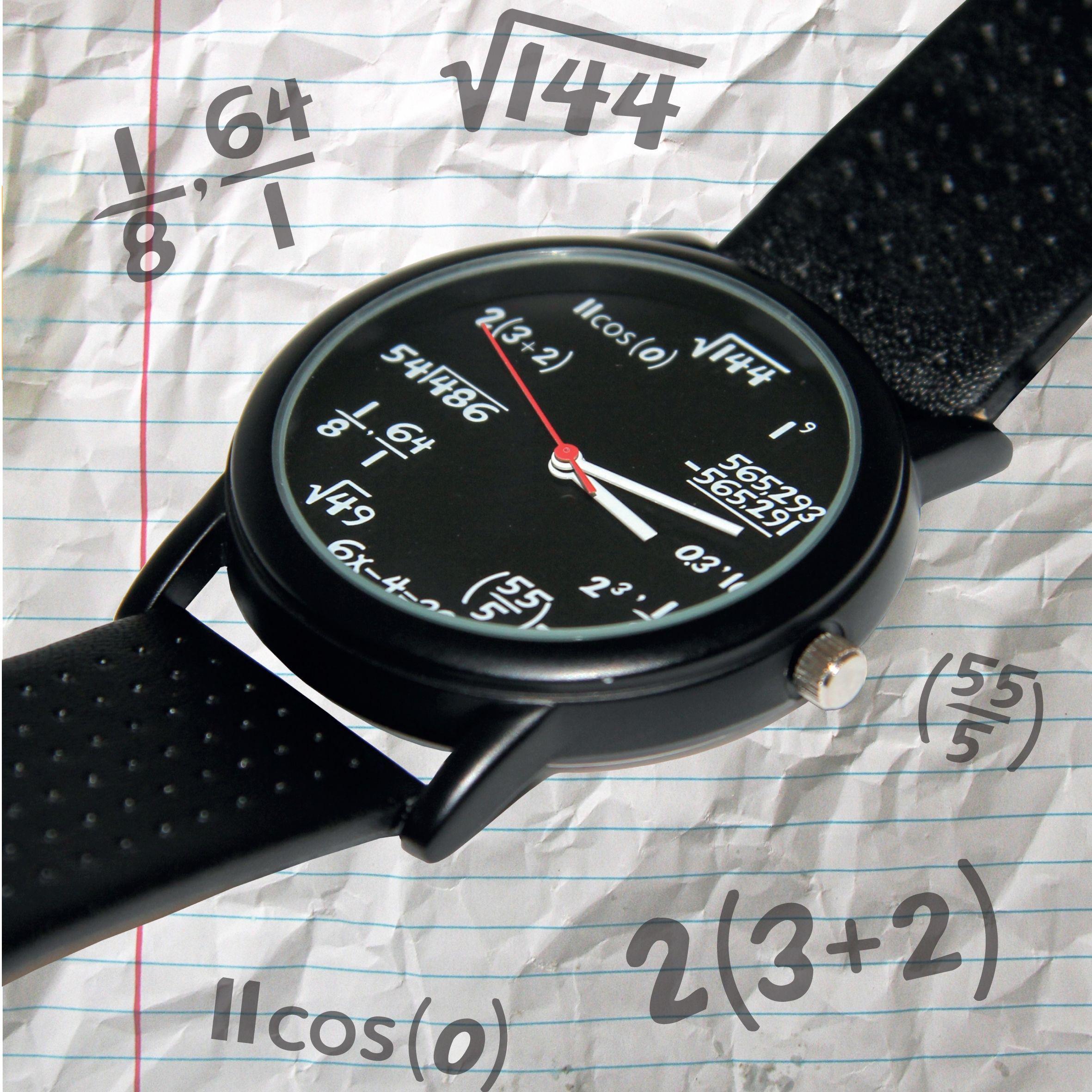 Часовник Thumbs Up - Mатематически  - 2
