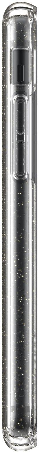 Калъф speck -  iPhone SE, 8,7, Gold Gliter, прозрачен - 7
