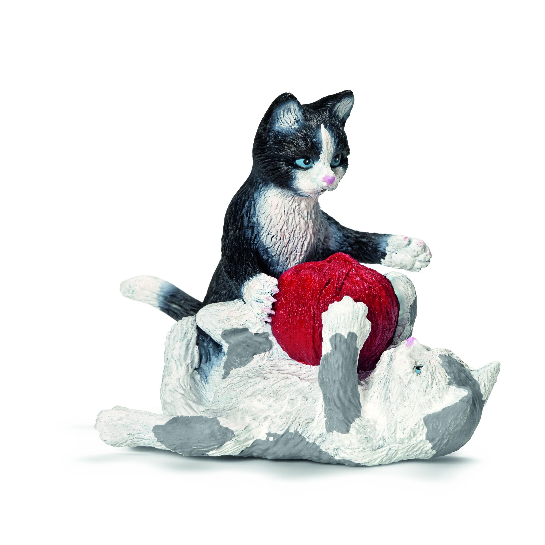 Фигурки Schleich от серията Животът във фермата: Котенца с прежда - 1