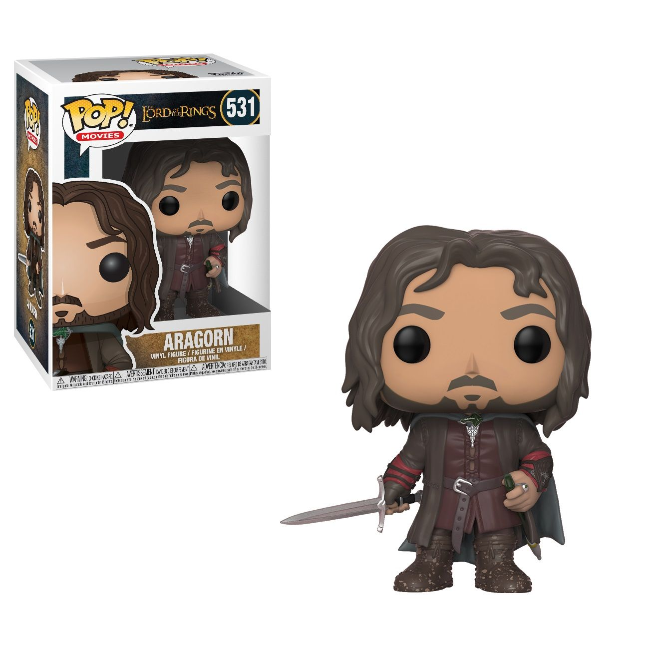 Фигура Funko Pop! Movies: The Lord of the Rings - Aragorn; #531 - 2