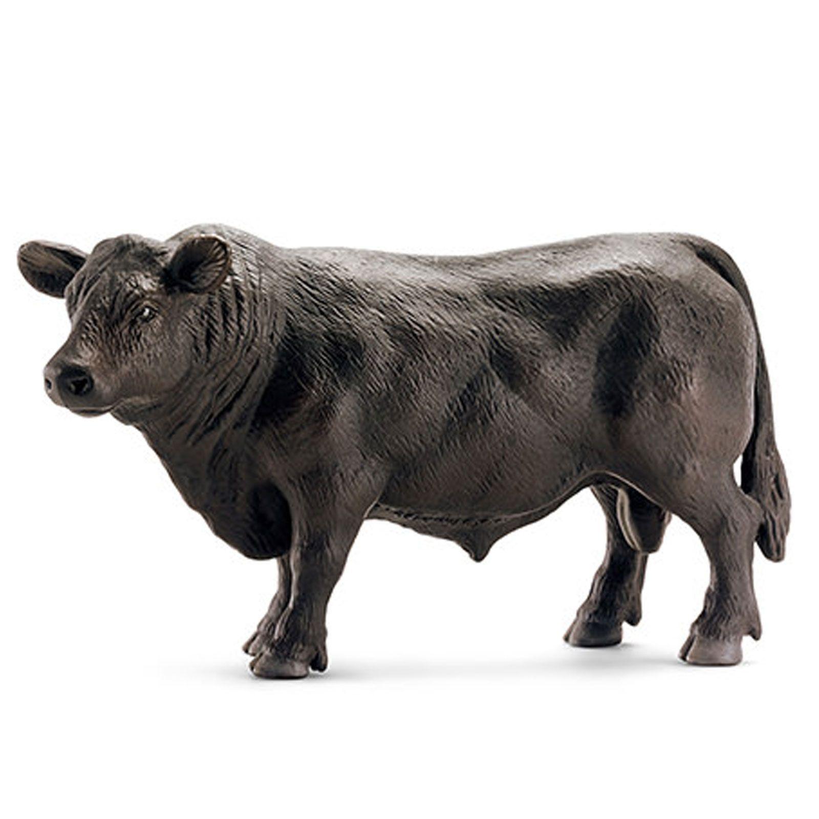 Фигурки Schleich от серията Животът във фермата: Черен ангъс бик - 1