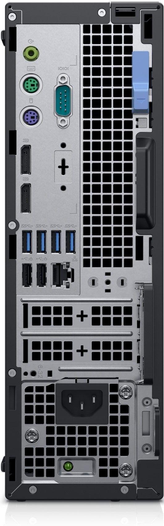 Настолен компютър Dell OptiPlex - 7070 SFF, черен - 4