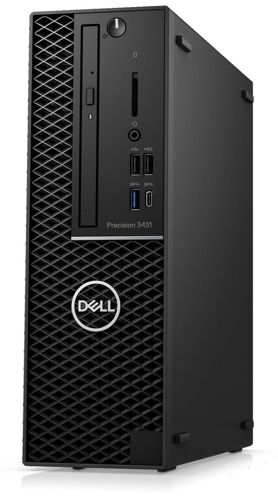 Работна станция Dell Precision - 3431 SFF, черен - 4