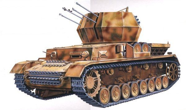 Танк Academy Flakpanzer IV (13236) - 1
