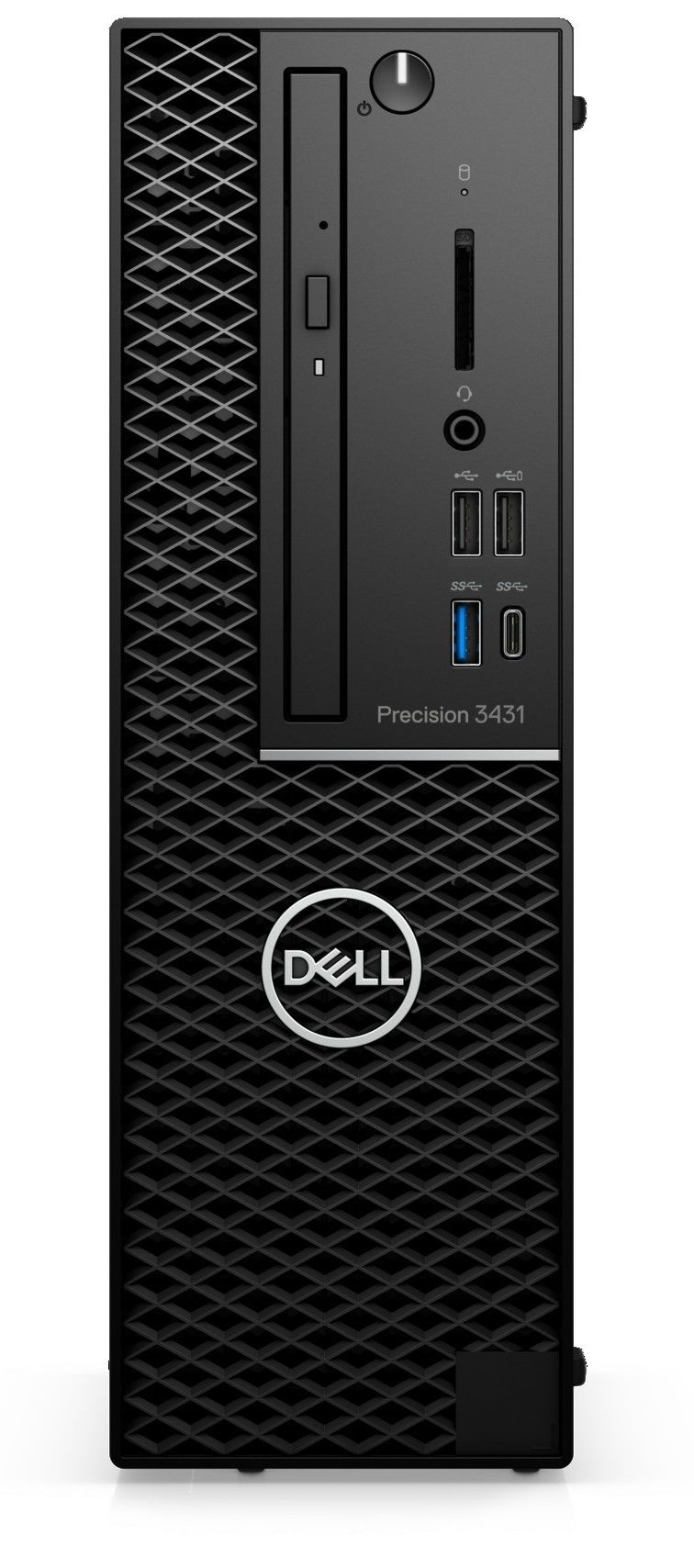Работна станция Dell Precision - 3431 SFF, черен - 1