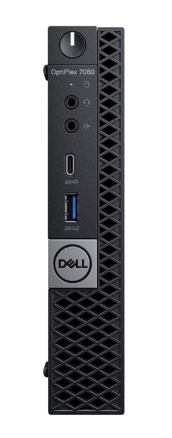 Настолен компютър Dell OptiPlex - 7060 MFF, черен - 1