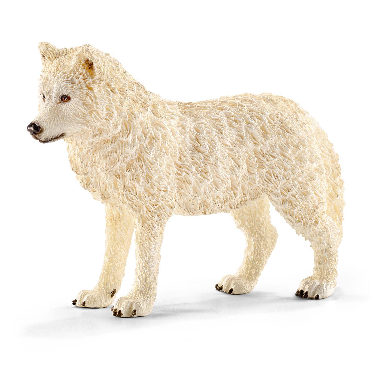 Фигурка Schleich от серията Дивия живот - Арктика и Антарктика: Полярен вълк - 1
