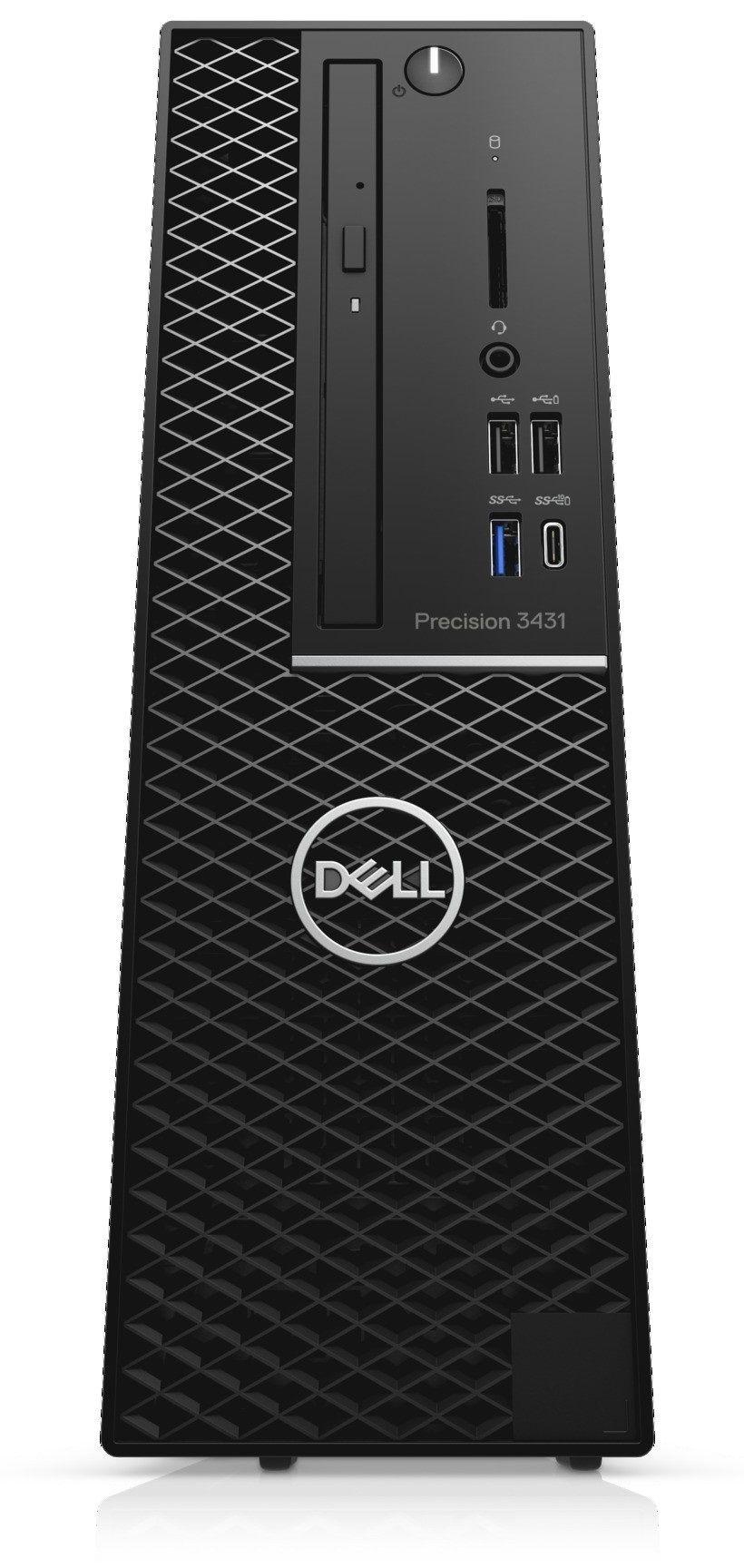 Работна станция Dell Precision - 3431 SFF, черен - 2