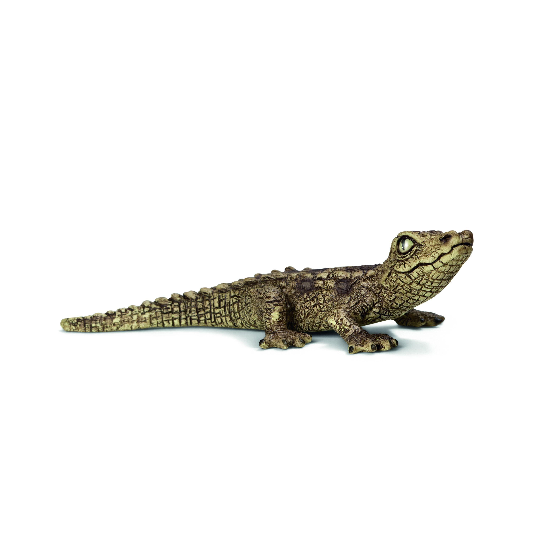 Фигурка Schleich от серията Дивия живот - Африка: Крокодил, бебе - 1
