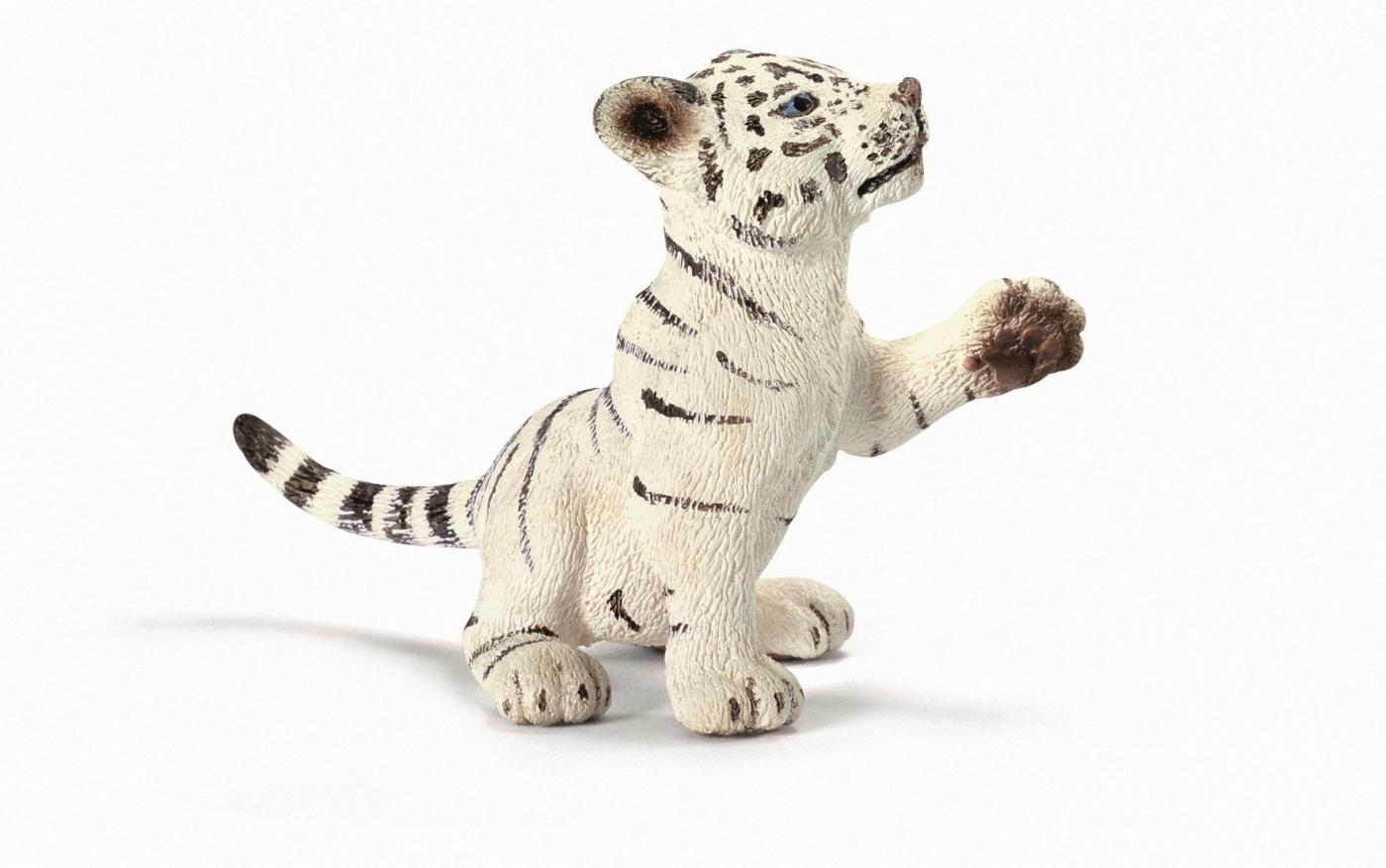 Фигурка Schleich от серията Дивия живот - Азия и Австралия: Бяло тигърче - играещо - 1