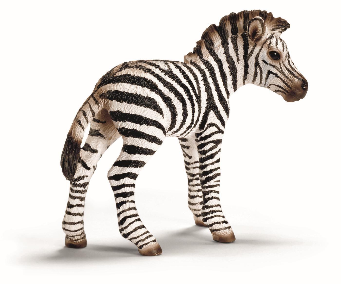 Фигурка Schleich от серията Дивия живот - Африка: Зебра - бебе - 1