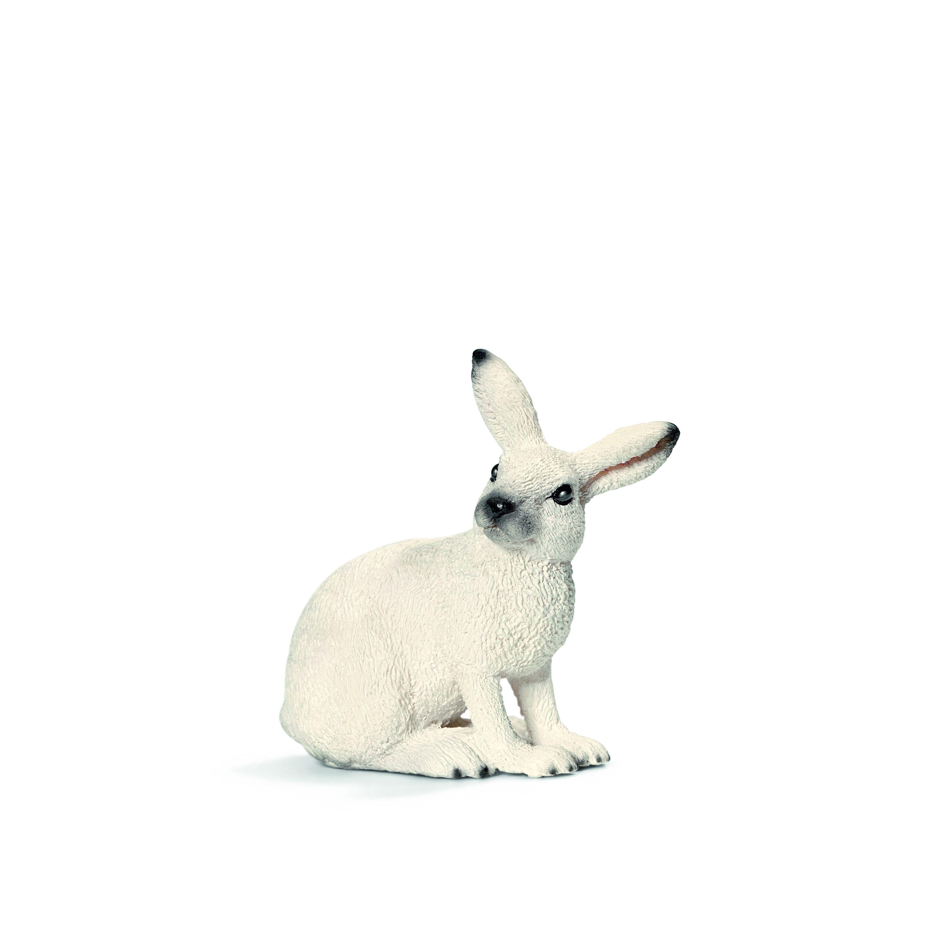 Фигурка Schleich от серията Дивия живот - Животните в Европа: Заек, бял - 1