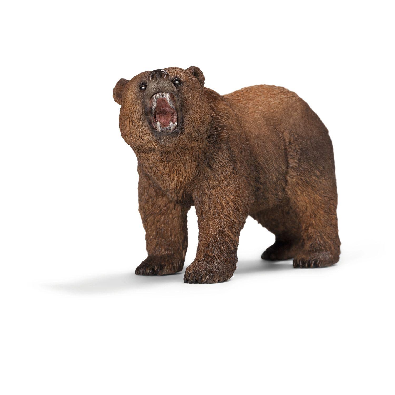 Фигурка Schleich от серията Дивия живот - Америка: Мечка гризли - 1