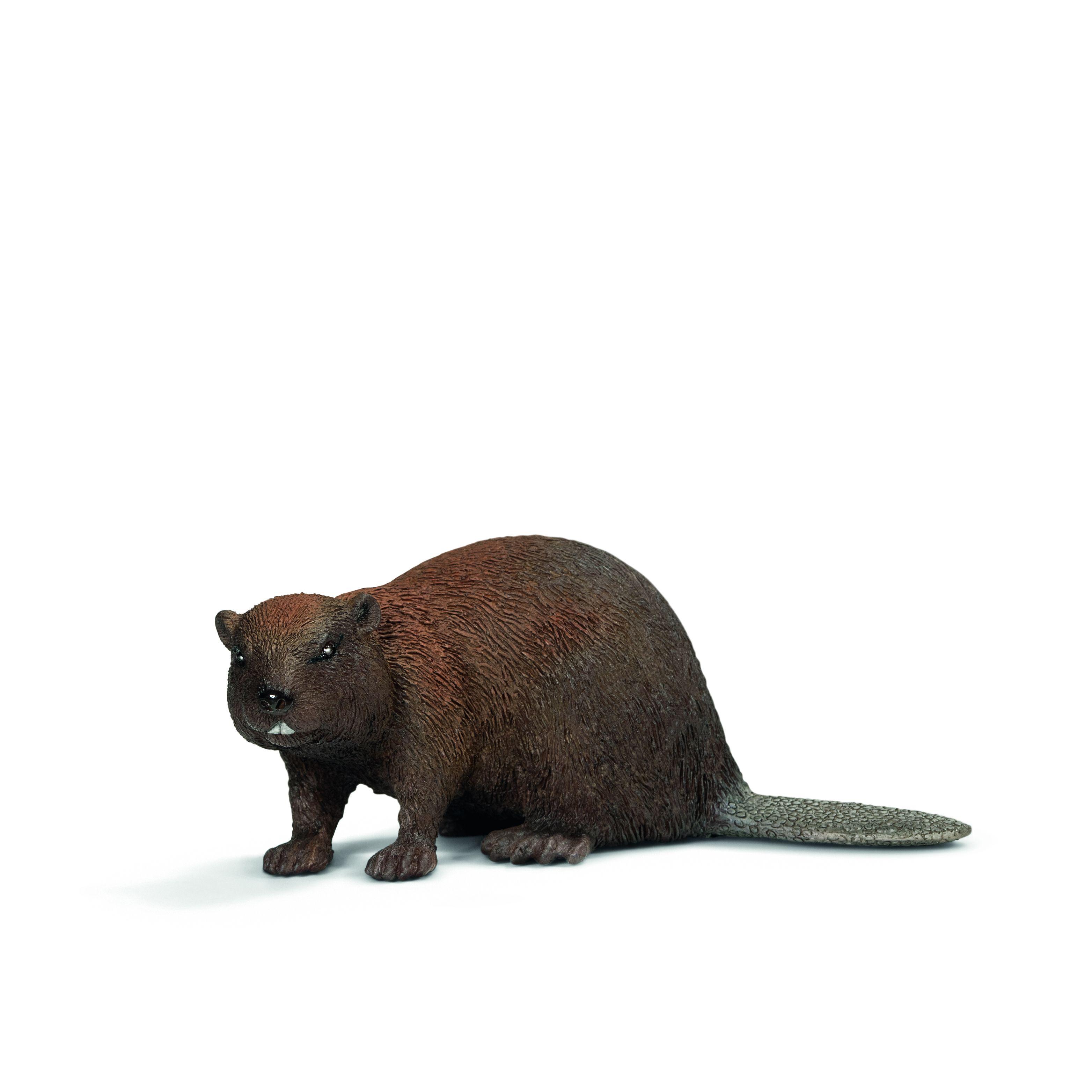 Фигурка Schleich от серията Дивия живот - Животните в Европа: Бобър - 1