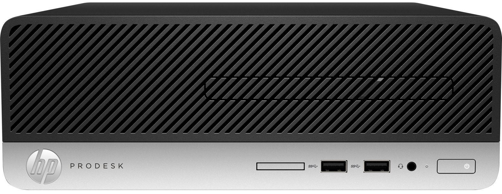 Настолен компютър HP ProDesk - 400 G6 SFF, черен - 1