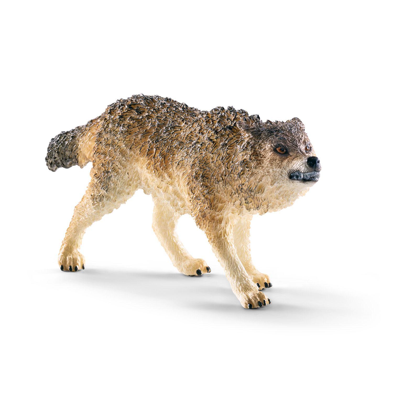 Фигурка Schleich от серията Дивия живот - Америка: Вълк - ръмжащ - 1