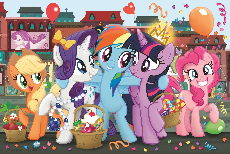 Пъзел Trefl от 160 части - Пазар, My Little Pony - 1