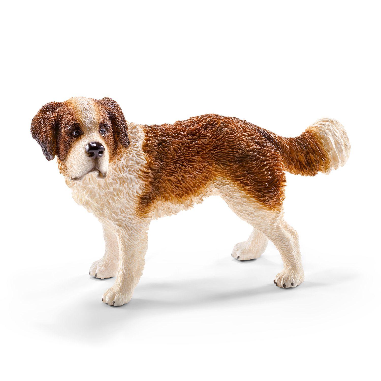 Фигурка Schleich от серията Кучета: Санбернар - 1