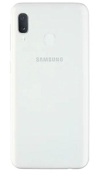 "Смартфон Samsung Galaxy A20e - 5.8"", 32GB, бял - 3"