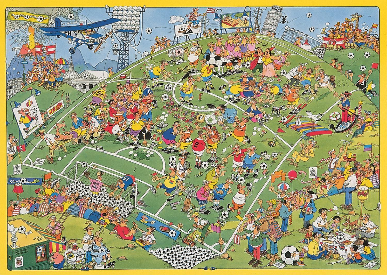 Пъзел Jumbo от 500 части - Футболен мач, Ян ван Хаастерен - 2