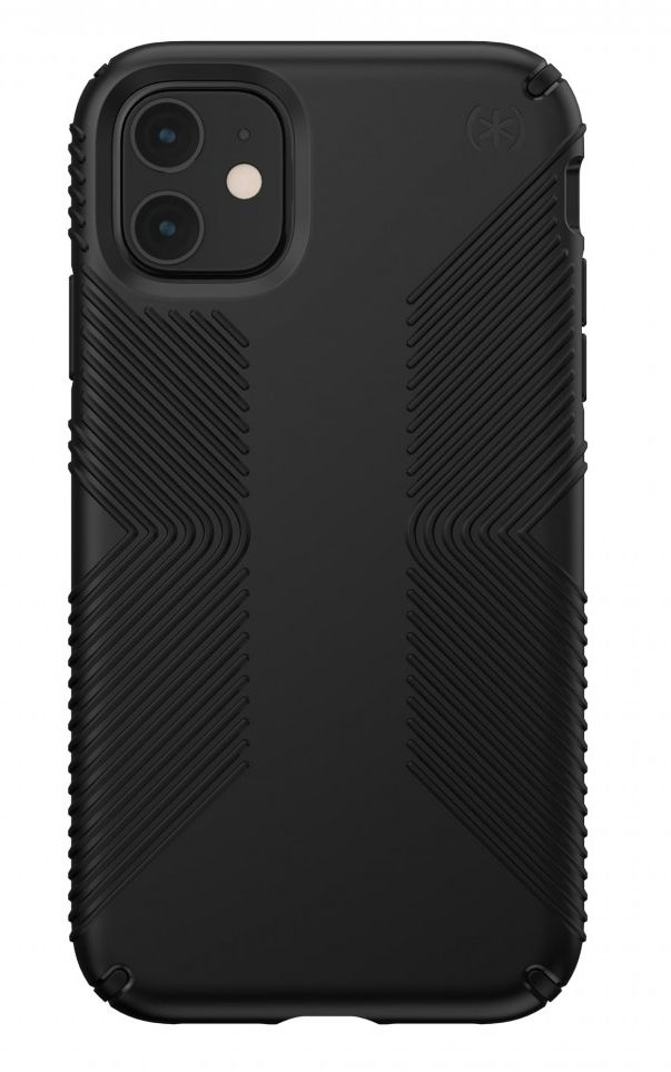 Калъф Speck - Presidio Grip, за iPhone 11, черен - 1